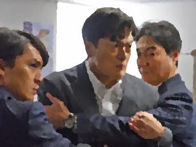 『刑事の十字架』(テレ東 2014年5月) あらすじ&ネタバレ 陣内孝則主演,渡辺大,植草克秀出演