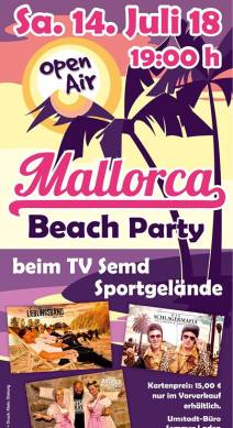 Mallorca Beach Party