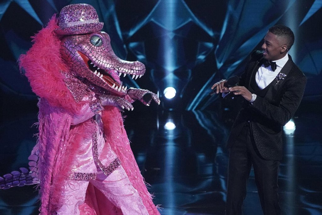 A Boy Band Idol May Be the Crocodile In This Exclusive The Masked Singer Sneak Peek