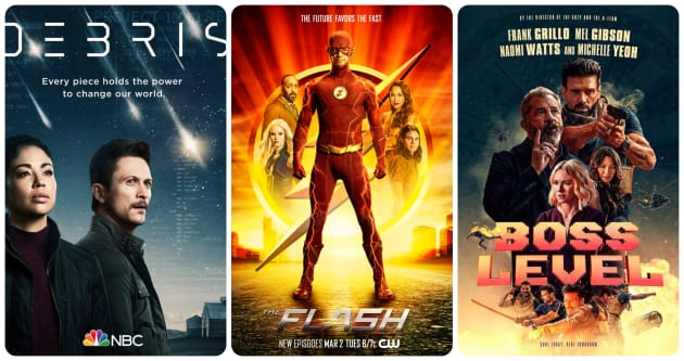 What to Watch: Debris, The Flash, Boss Level