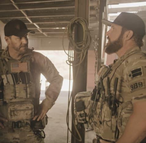 Infiltrating a Camp -- Tall - SEAL Team Season 4 Episode 14