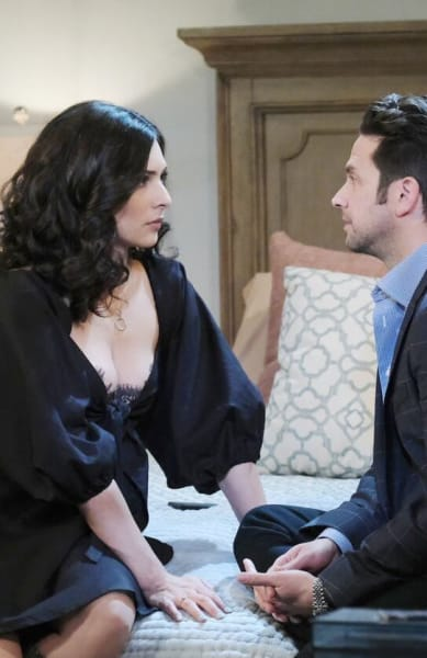 Jake Pours His Heart Out to Gabi / Tall - Days of Our Lives