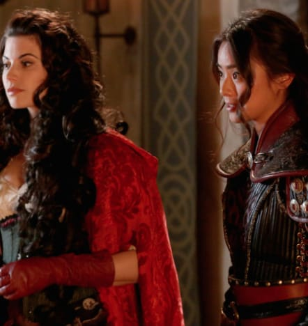 Mulan and Ruby - Once Upon a Time Season 5 Episode 18