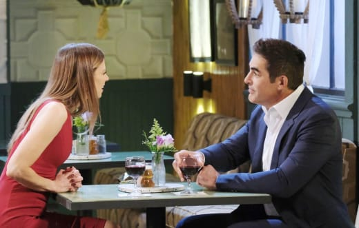Steve Disapproves of Ava - Days of Our Lives