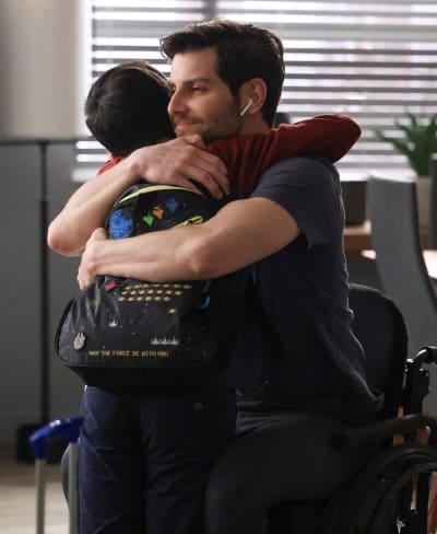 Saville Men Hugs - tall - A Million Little Things Season 3 Episode 16