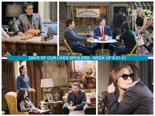 Spoilers for the Week of 6-21-21 - Days of Our Lives