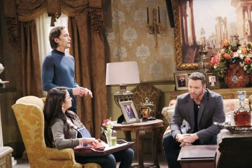 Trying to Lure Chloe Away - Days of Our Lives