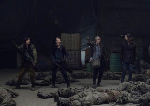 A Tense Scenario - The Walking Dead