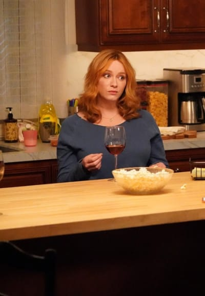 Chatting Over Wine - Good Girls Season 4 Episode 15
