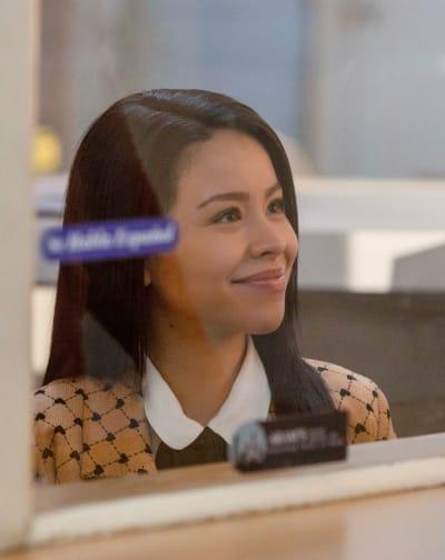 Marina the Receptionist - tall - Good Trouble Season 3 Episode 13