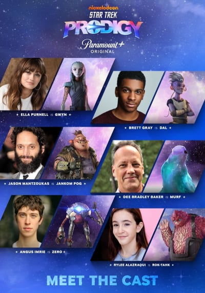 Star Trek: Prodigy Cast