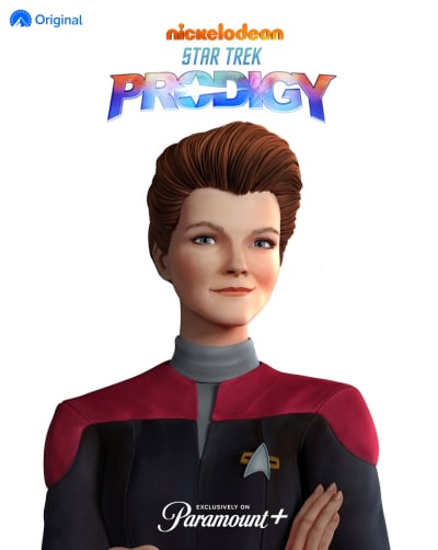 Star Trek: Prodigy Janeway Poster