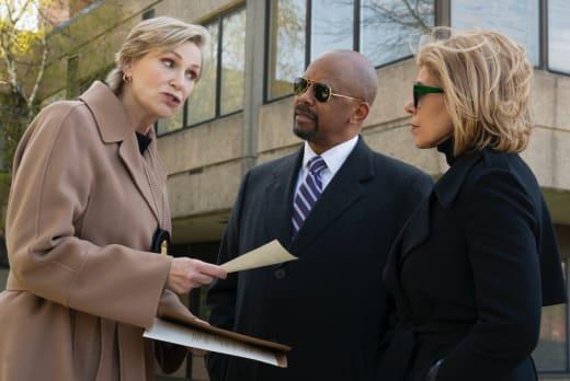 Starkey, Julius, Diane long - The Good Fight Season 5 Episode 5