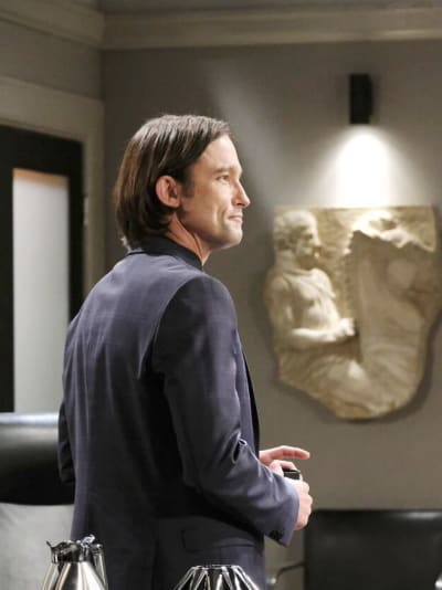 Kate Warns Philip  / Tall - Days of Our LIves