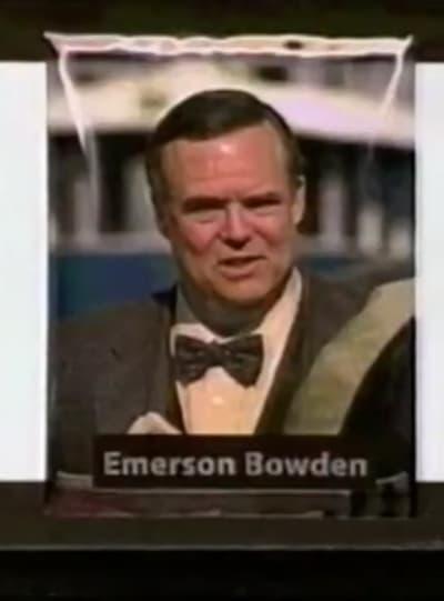 Mayor Emmerson Bowden - Tall
