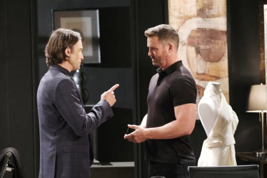 Philip Flips Out - Days of Our Lives