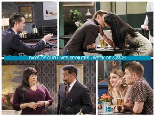 Spoilers for the Week of 8-23-21 - Days of Our Lives