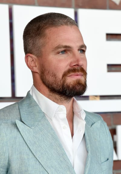 Stephen Amell in Profile from the Heels Premiere