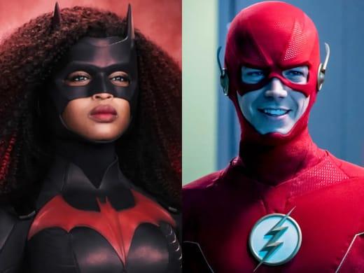 The Flash Batwoman Split