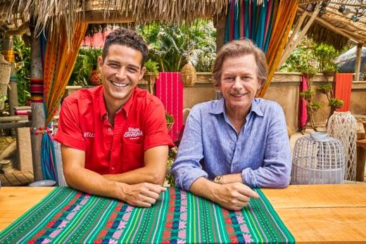 Wells Adams and David Spade - Bachelor in Paradise