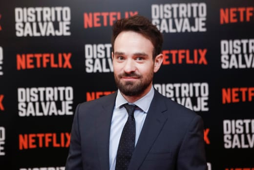 Charlie Cox Attends Premiere Event