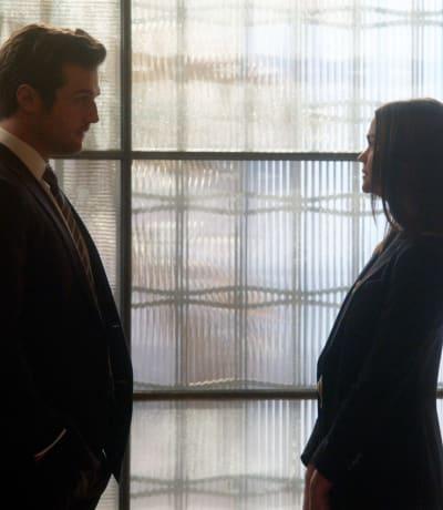 Prosecution versus Defense - tall - Good Trouble Season 3 Episode 10