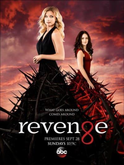 Revenge Season 4  Cast poster