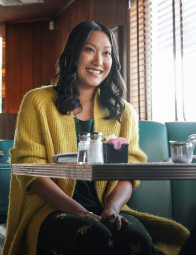 Smiling Sumi -tall - Good Trouble Season 3 Episode 18