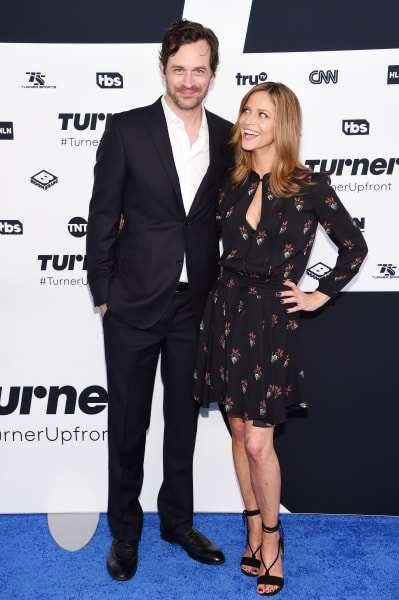 Tom Everett Scott and Andrea Savage 2017 Turner Upfront