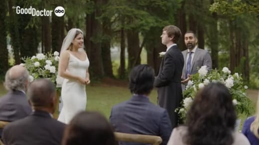 Wedding on The Good Doctor