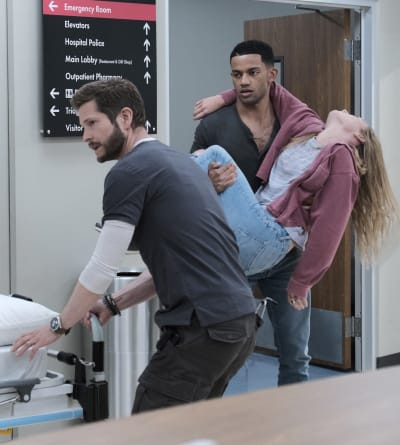An Overdose - tall - The Resident Season 5 Episode 2