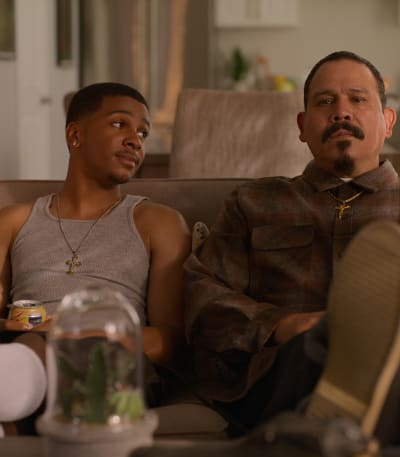 Chilling with Chivo -tall - On My Block Season 4 Episode 8