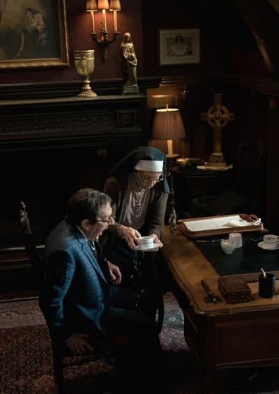 Sister Andrea Rocks - EVIL Season 2 Episode 12