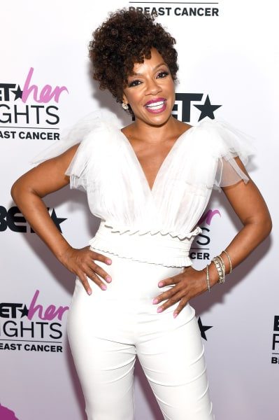 Wendy Raquel Robinson Attends BET Her Fights Breast Cancer