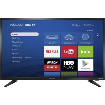 """Insignia 32"""" Roku TV- TV Sizes"""