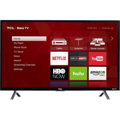 TCL 32 inch Roku TV - TV Sizes