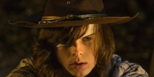 Carl Grimes The Walking Dead Chandler Riggs