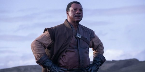The Mandalorian Carl Weathers banner