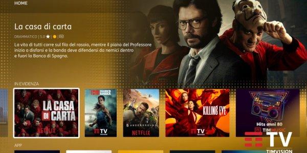 TIMVISION Box - Mondo Netflix
