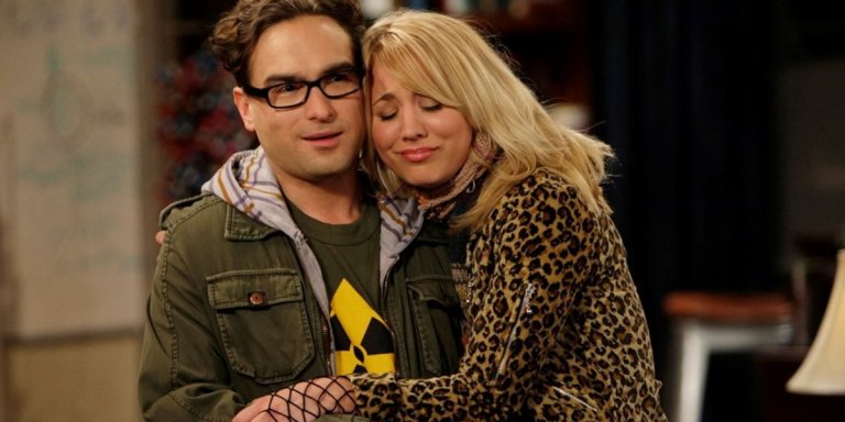 kaley cuoco johnny galecki