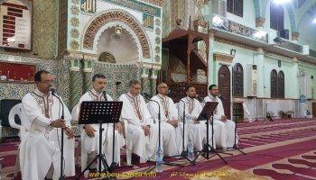 بمناسبة ليالي المولد النبوي الشريف فرقة البهاء في حفل بمسجد البشير الابراهيمي