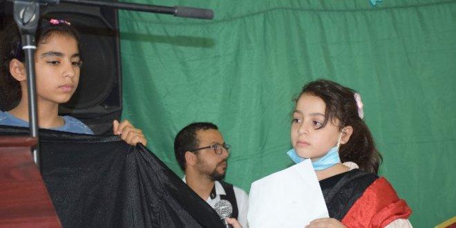 مؤثر جدا .. بمناسبة اليوم الوطنى للفنان أطفال بوسعادة مع غزة