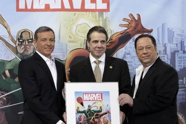 Image result for andrew cuomo superhero