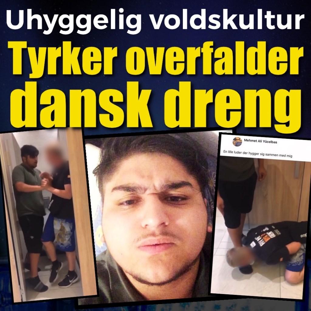 ΑΠΙΣΤΕΥΤΕΣ ΕΙΚΟΝΕΣ ΣΤΗΝ ΔΑΝΙΑ - Ιδού ποια είναι η πολυπολιτισμικότητα -Τούρκος εξαναγκάζει νεαρό να φιλήσει τα παπούτσια του....