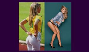 Inés Sainz vs Vanessa Huppenkothen Duelo de Belleza deportiva