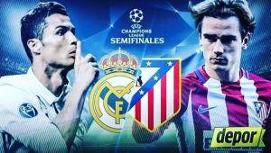 Ver Real Madrid vs Atlético Madrid en Vivo Hoy Champions League 2017