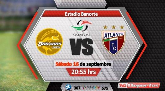 Atlante vs Mineros de Zacatecas en Vivo Ascenso MX 2017 previo