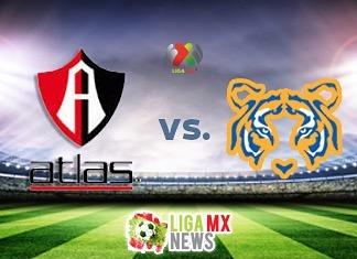 Atlas vs Tigres Liga MX 2017