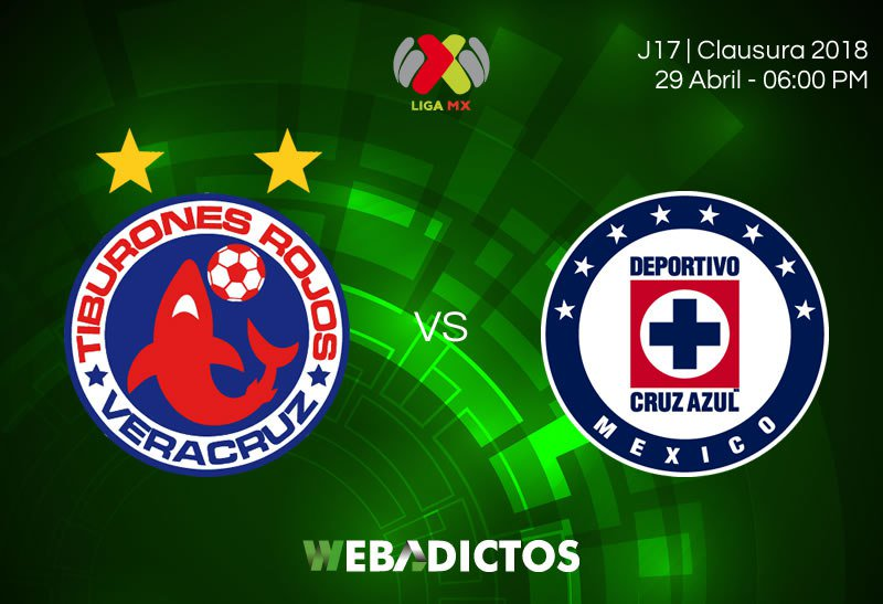 en que canal juega Veracruz vs Cruz Azul en Vivo Liga MX 2018