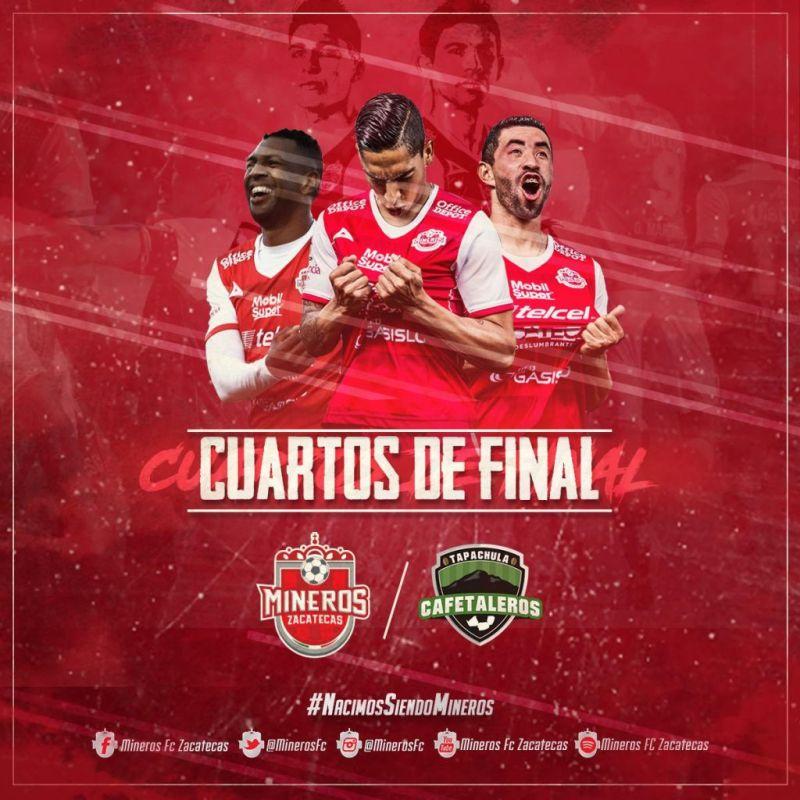 partido Cafetaleros vs Mineros en Vivo Ascenso MX 2018